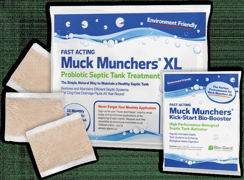 Muck Munchers + FREE Bio-Booster